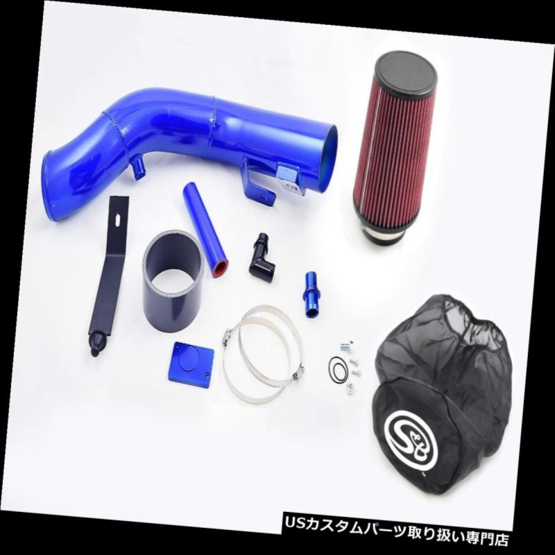 03-07 Kit USエアインテーク Air Dry 6.0 コールドエアインテークキット、ドライS& Filter w/ Diesel Powerstroke Wrap ラップ03-07フォード6.0パワーストロークディーゼル Bフィルター& Intake Cold S&B Ford インナーダクト &