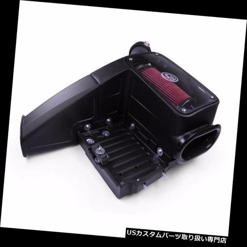 エアインテーク インナーダクト 99-03フォード7.3L Powerstrokeディーゼル用S& B冷風インテークキット洗浄可能フィルター S&B Cold Air Intake Kit Cleanable Filter For 99-03 Ford 7.3L Powerstroke Diesel