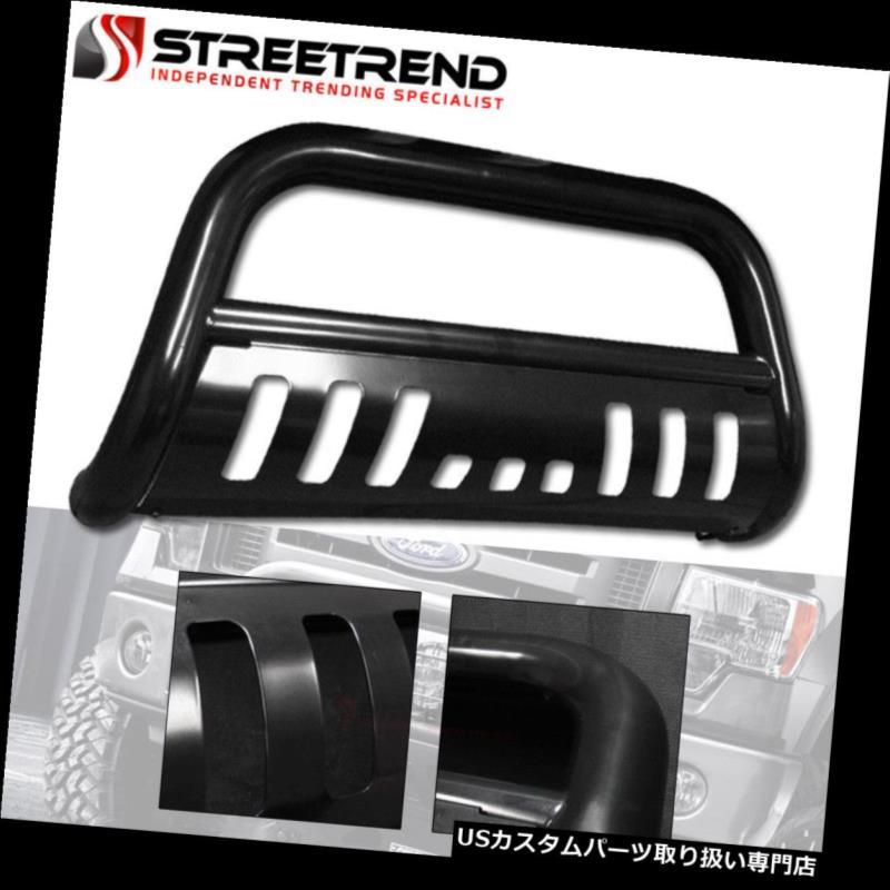 グリルガード 09-18用ダッジラム1500黒HDブルバーブラシプッシュバンパーグリルグリルガード For 09-18 Dodge Ram 1500 Black HD Bull Bar Brush Push Bumper Grill Grille Guard