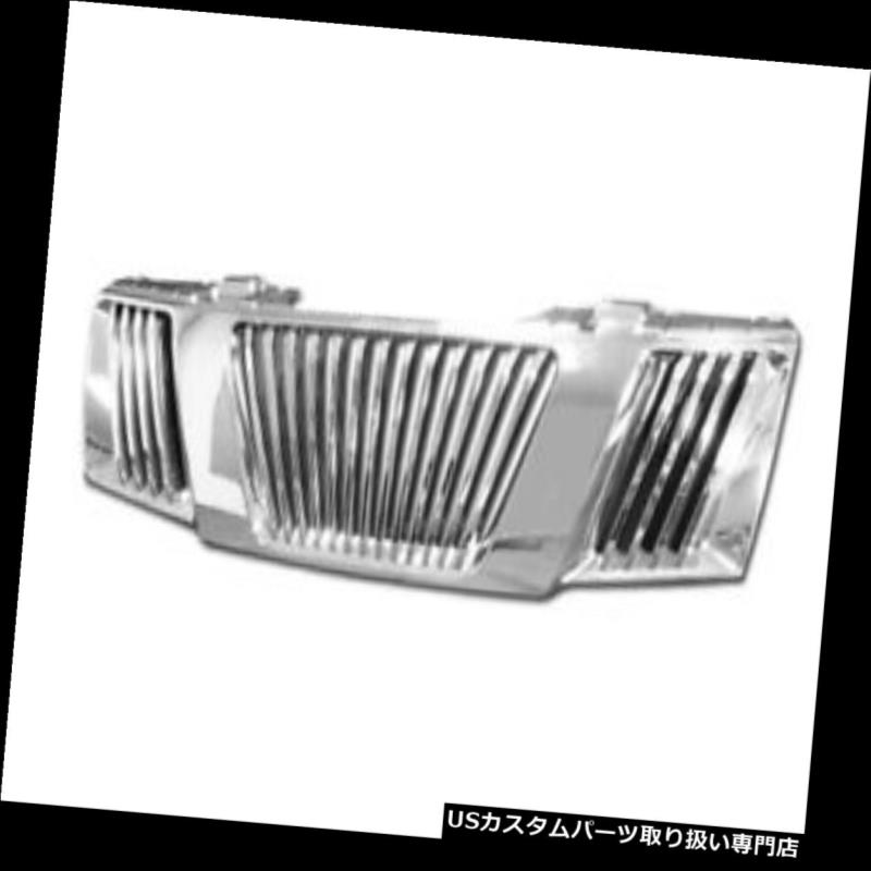 グリルガード 05-08 Frontier / Pathf インナークローム垂直フロントフードバンパーグリルグリルABS For 05-08 Frontier/Pathfinder Chrome Vertical Front Hood Bumper Grill Grille ABS