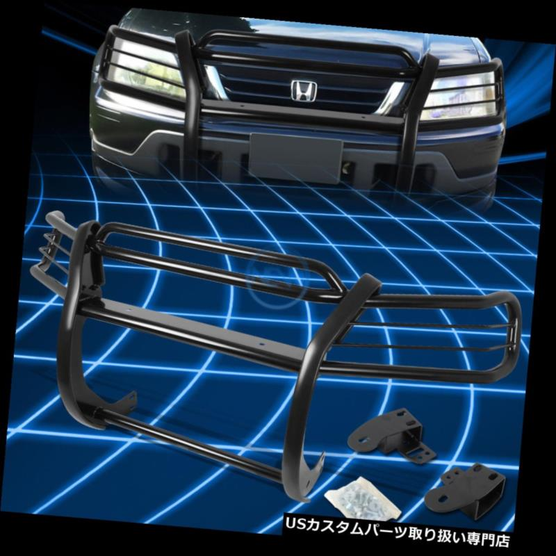 Grille SUV Honda 1997-2001ホンダCRV グリルガード Guard CR-V Protector / CRV/CR-V SUVのための黒いブラシのバンパープロテクターグリルガード RD Bumper RD 1997-2001 Brush for Black