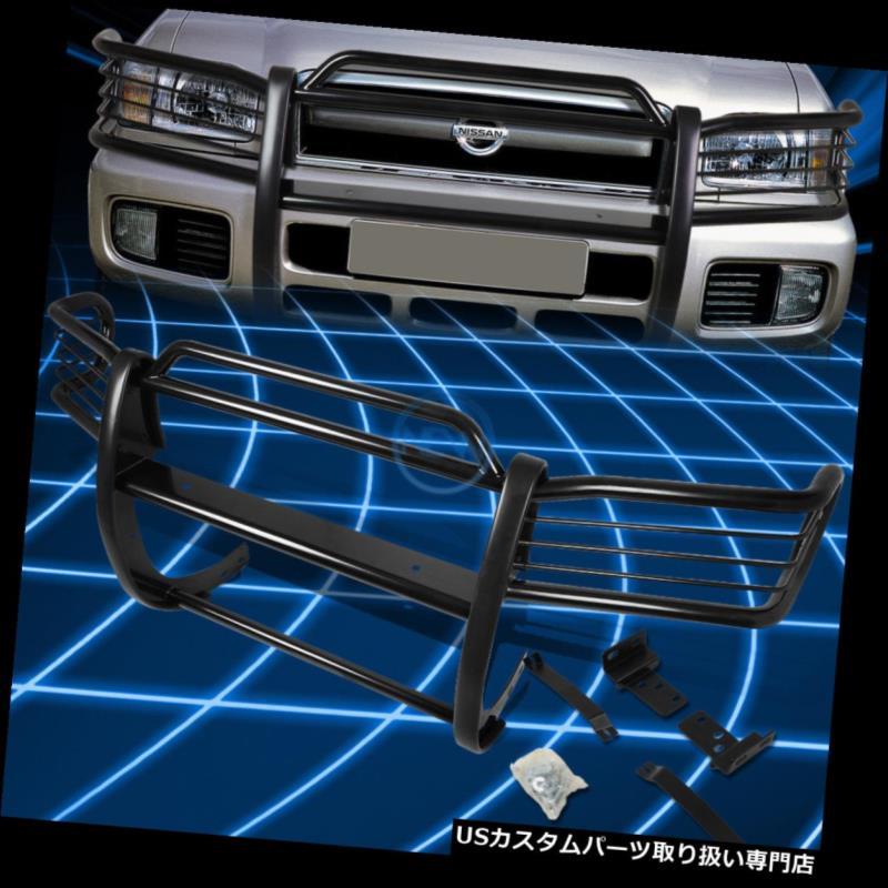 車用品・バイク用品 >> 車用品 >> パーツ >> 外装・エアロパーツ >> グリル グリルガード 1996-2004日産パスファインダーR50用ブラックブラシバンパープロテクターグリルガード Black Brush Bumper Protector Grille Guard for 1996-2004 Nissan Pathfinder R50