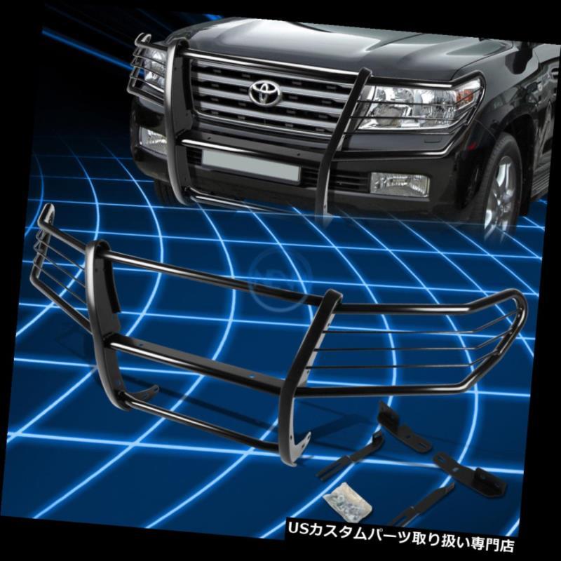 2008-2015ランドクルーザーJ200 J200 Cruiser Guard Black SUV グリルガード Land Bumper Protector Grille 2008-2015 SUV用ブラックブラシバンパープロテクターグリルガード Brush for