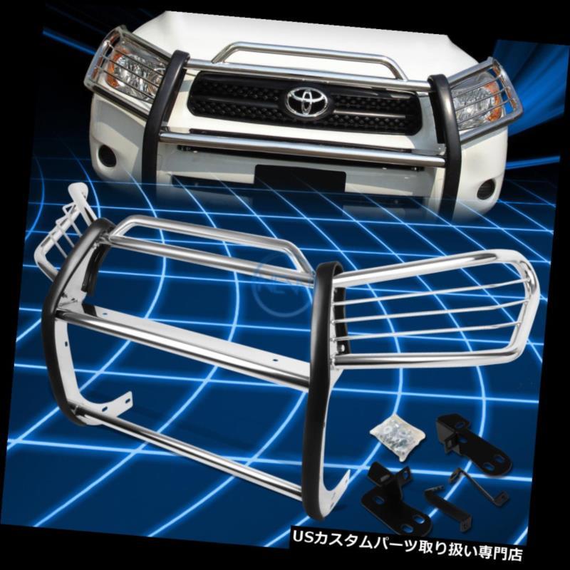 for Toyota XA20 Bumper Protector Chrome Guard Grille 2001-2005 SUV RAV4 2001-2005トヨタRAV4 SUV グリルガード XA20のためのクロムブラシのバンパープロテクターグリルガード Brush