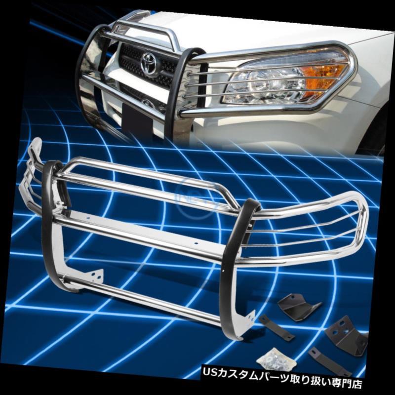 RAV4 SUV用クロムブラシバンパープロテクターグリルガード Brush Bumper SUV XA10 Grille グリルガード 1996-2000 1996-2000トヨタRAV4 Chrome Toyota Guard Protector for XA10