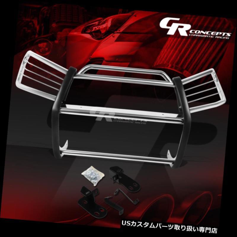 グリルガード XA20 STAINLESS 01-05 FRONT GRILLE/GRILL RAV4 XA20 SUVのためのクロムステンレスフロントバンパーグリル/グリルガード SUV TOYOTA FOR BUMPER CHROME GUARD 01-05トヨタRAV4