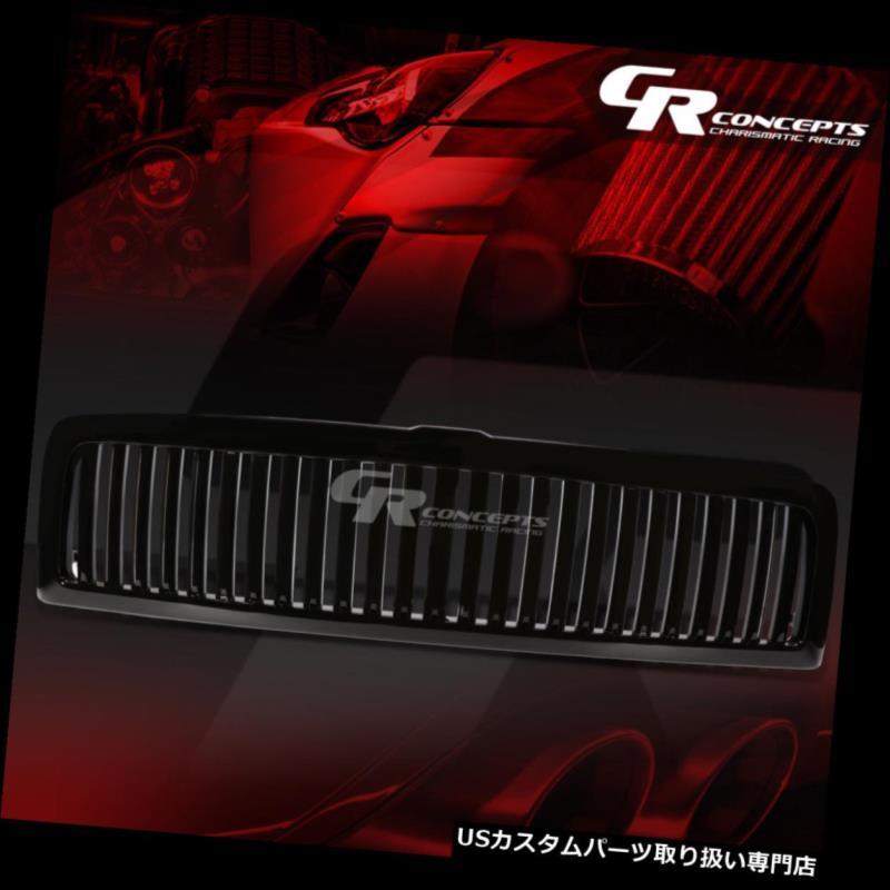 グリルガード ブラックABS ABSフロントバンパー垂直グリル/グリルガード94-02 DODGE RAM BR / BE 2ND BLACK ABS FRONT BUMPER VERTICAL GRILLE/GRILL GUARD FOR 94-02 DODGE RAM BR/BE 2ND