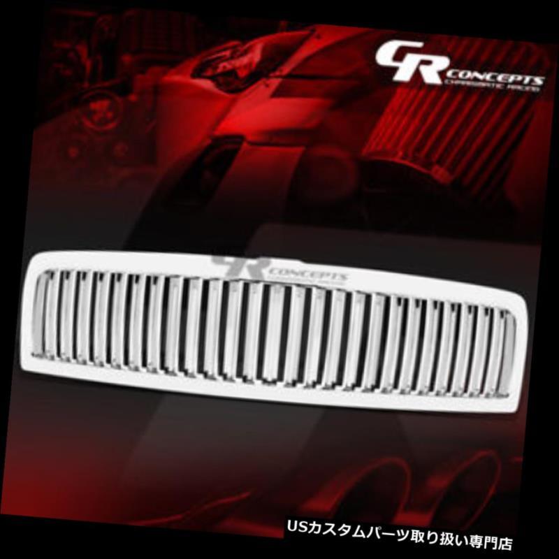 グリルガード クロムスポーツABSプラスチックフロントフードグリル/グリルガード94-02用DODGE RAM BR / BE CHROME SPORT ABS PLASTIC FRONT HOOD GRILLE/GRILL GUARD FOR 94-02 DODGE RAM BR/BE