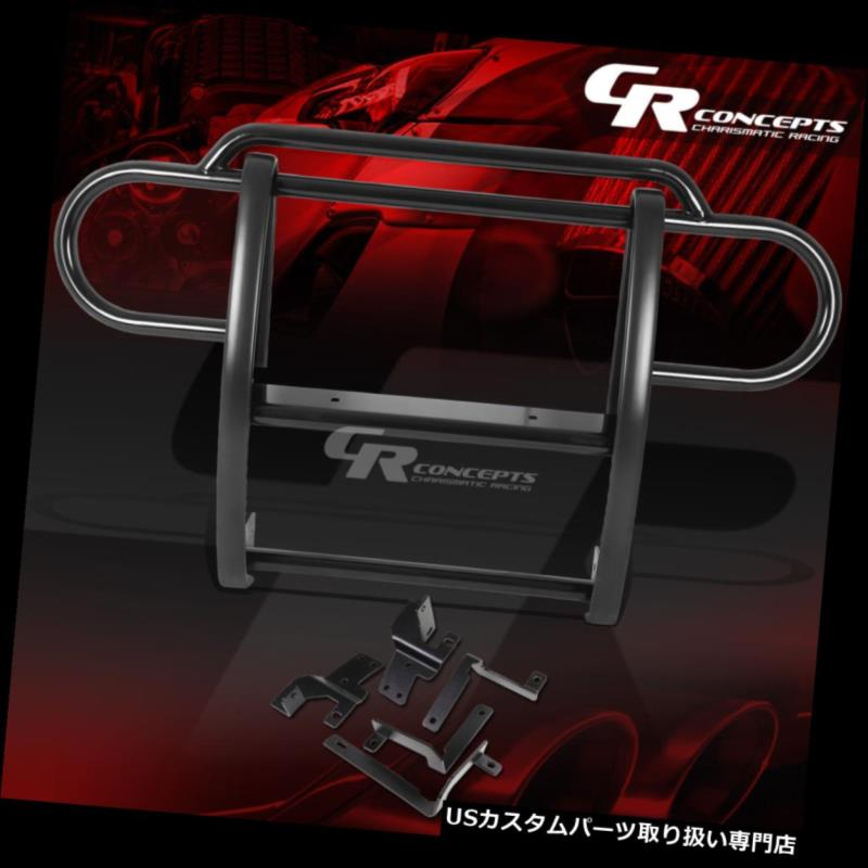 FOR WRANGLER JEEP 07-17 MILD BLACK グリルガード KIT JKのための黒い軟鋼の前部バンパーグリル/グリルガードキット FRONT STEEL GRILLE/GRILL BUMPER GUARD JK 07-17 WRANGLER JEEP