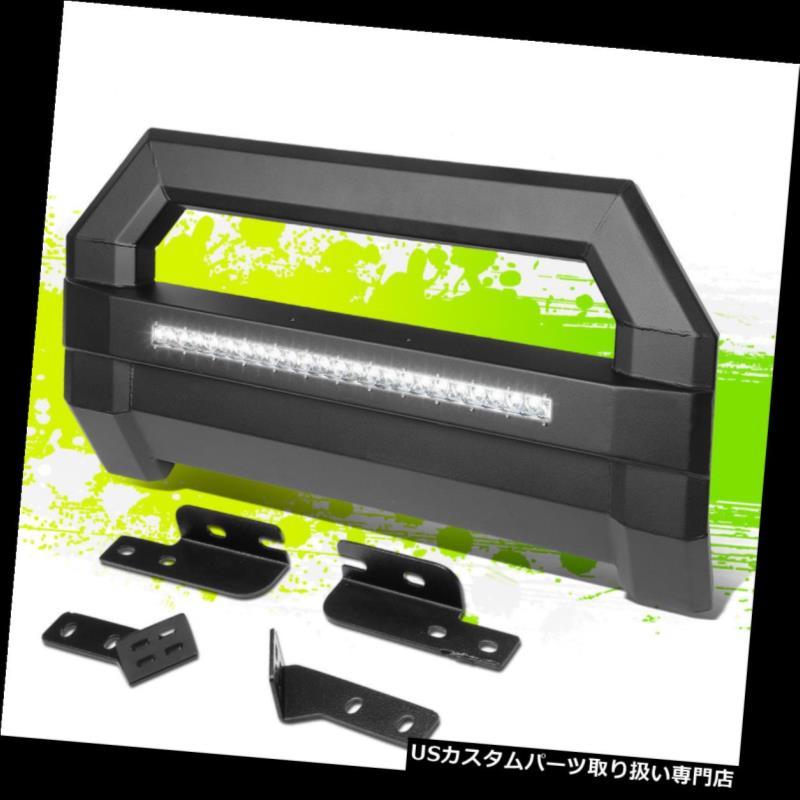 グリルガード FOR 04-18 FORD F150 LED照明用ブルバーグリルガード+ライセンスプレートリロケータ FOR 04-18 FORD F150 LED LIGHTING BULL BAR GRILLE GUARD+LICENSE PLATE RELOCATOR