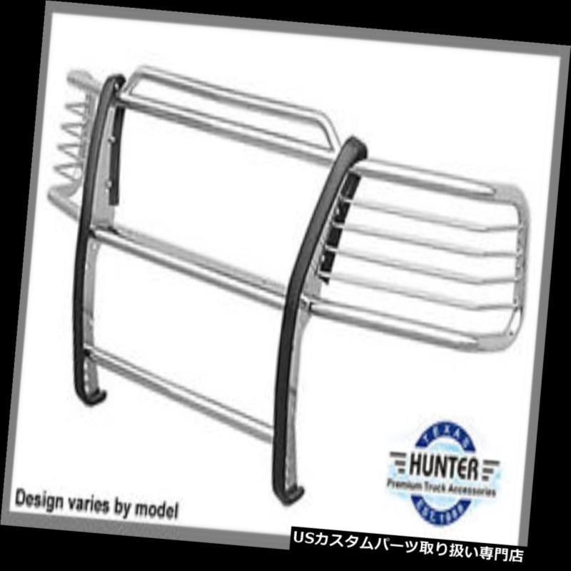 タコメーター 2009-2018ダッジラム1500ハンターバンパーグリルグリルブラシガードステンレス 2009-2018 Dodge Ram 1500 Hunter bumper grille Grill Brush Guard Stainless Steel