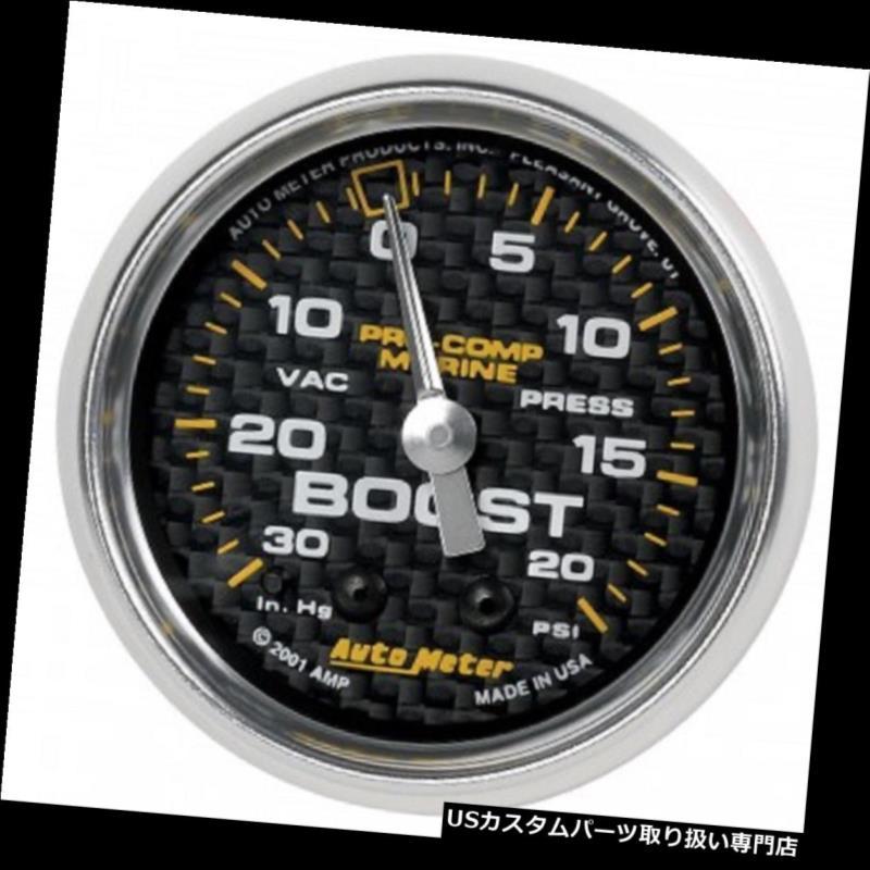 タコメーター オートメーター200774-40真空/ブースト30 IN HG / 20 PSIメカニカル2-1 / 16