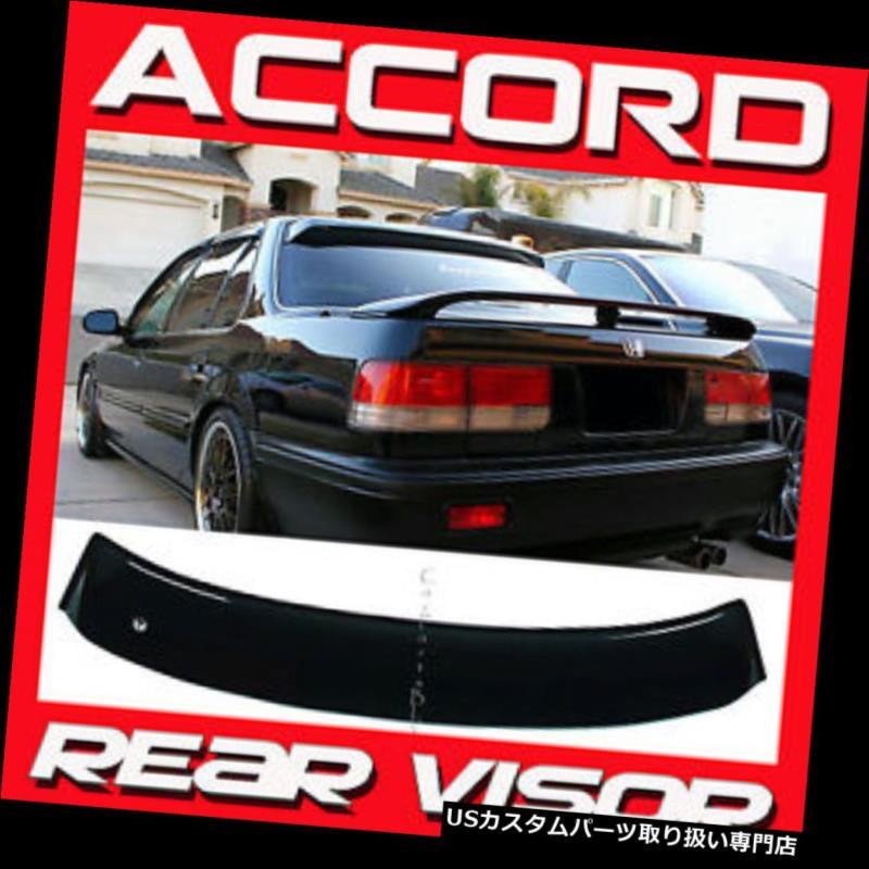 ベントバイザー ドアバイザー レインガード 予約注文1990-1993年ホンダアコードセダンCB7リアルーフウィンドウバイザーサンデフレクター Pre-Order 1990-1993 Honda Accord Sedan CB7 Rear Roof Window Visor Sun Deflector