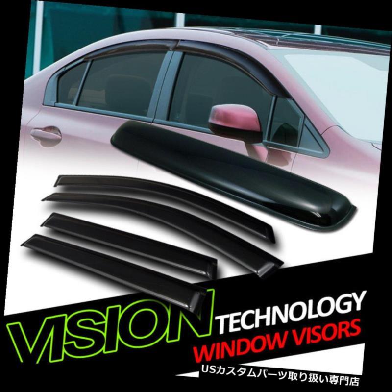 ベントバイザー ドアバイザー レインガード サンレインウィンドベントウィンドウバイザー+ Moonroo  fルーフデフレクター5P 09-16シボレートラバース Sun Rain Wind Vent Window Visors+Moonroof Roof Deflector 5P 09-16 Chevy Traverse