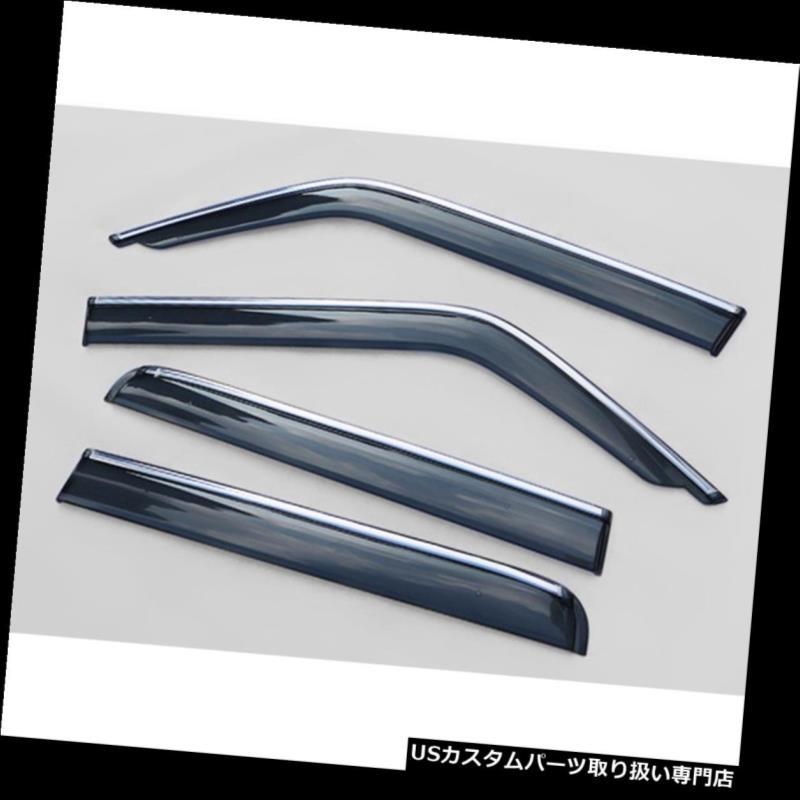 Chrome Trim Side Window Visors Guard Vent Deflectors For Mazda 6 Wagon 2007-2012