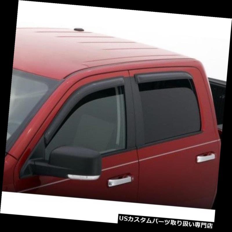 ベントバイザー ドアバイザー レインガード トヨタツンドラ乗組員マックス2007-2019のための94309 AVS 4pcの窓の出口のバイザーの雨ガード 94309 AVS 4pc Window Vent Visor Rain Guards for Toyota Tundra Crew Max 2007-2019