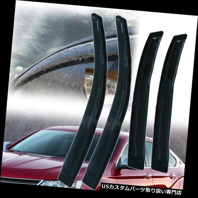 ベントバイザー ドアバイザー レインガード ウィンドウバイザーガードデフレクターベント左&右シボレーインパラ06-13車用 Window Visors Guard Deflector Vent LEFT&RIGHT for Chevy Impala 06-13 Vehicle US