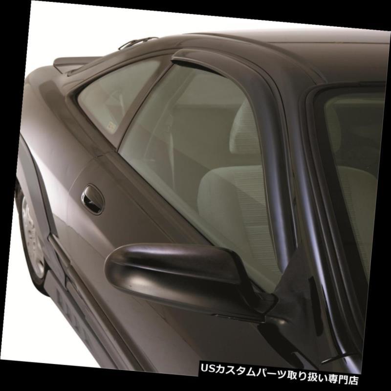 ベントバイザー ドアバイザー レインガード 自動VentshadeインチャネルウィンドウVentvisorディフレクタ192410はホンダシビックにフィット Auto Ventshade In-Channel Window Ventvisor Deflectors 192410 Fits Honda Civic