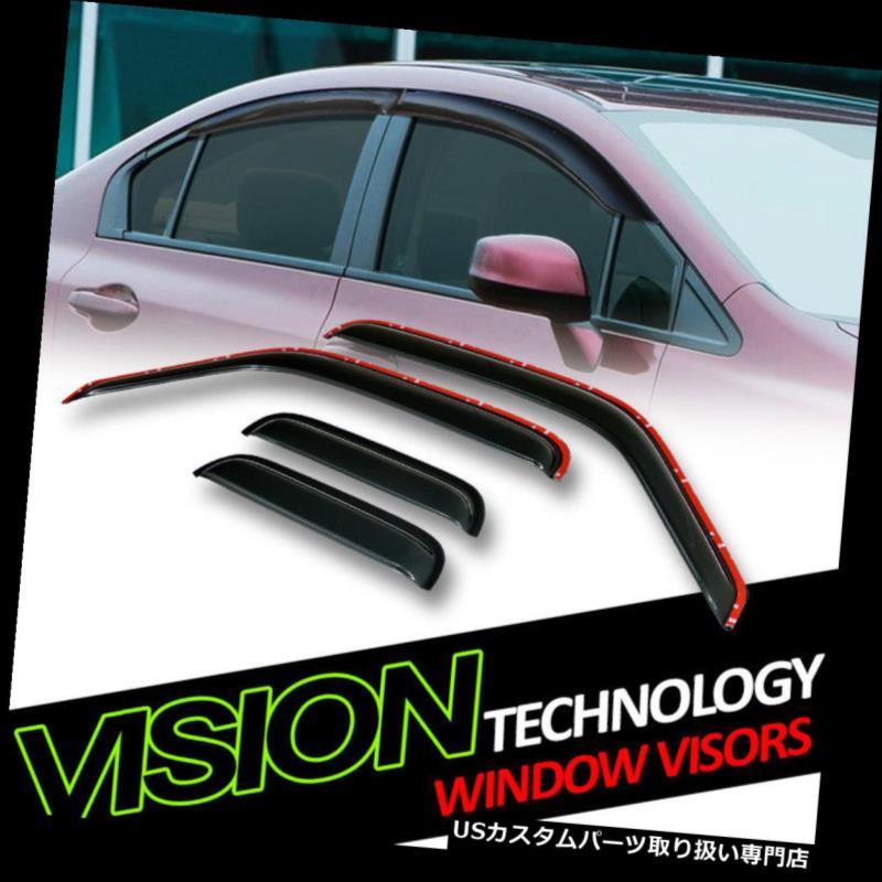 ベントバイザー ドアバイザー レインガード インチャネルベントシェードガードディフレクターウィンドウバイザー93-11 Ranger / B2300 Super Cab In-Channel Vent Shade Guard Deflector Window Visors 93-11 Ranger/B2300 Super Cab