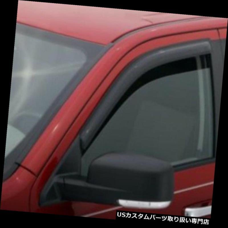 ベントバイザー ドアバイザー レインガード シボレーカマロのための92341 AVS 2pcの窓の出口のバイザーの雨ガード2010-2019 92341 AVS 2pc Window Vent Visor Rain Guards for Chevrolet Camaro 2010-2019