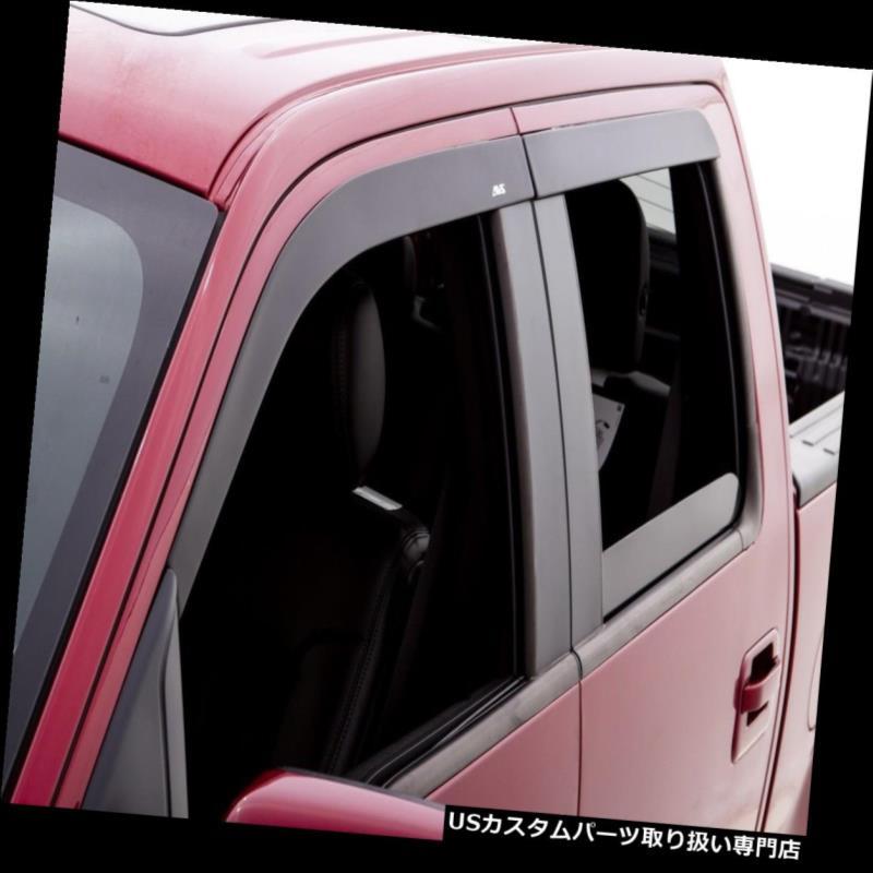 ベントバイザー ドアバイザー レインガード 2005-2015トヨタタコマ2013 2012年2006 2006年のVentshadeのための窓の出口のバイザー Window Vent Visors For 2005-2015 Toyota Tacoma 2013 2012 2006 2007 Ventshade