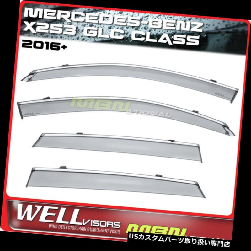 US Smoke Window Visor Rain Sun Guard Vent Fit Honda Accord Sedan 03 04 05 06 07