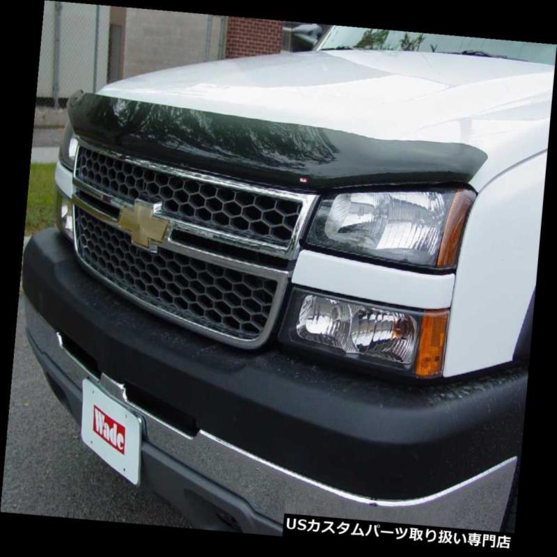 ベントバイザー ドアバイザー レインガード バグシールド& A 2005-2007シボレーシルバラードHDクルーキャブ用のインチャネルベントバイザー Bug Shield & In-Channel Vent Visors for 2005-2007 Chevy Silverado HD Crew Cab