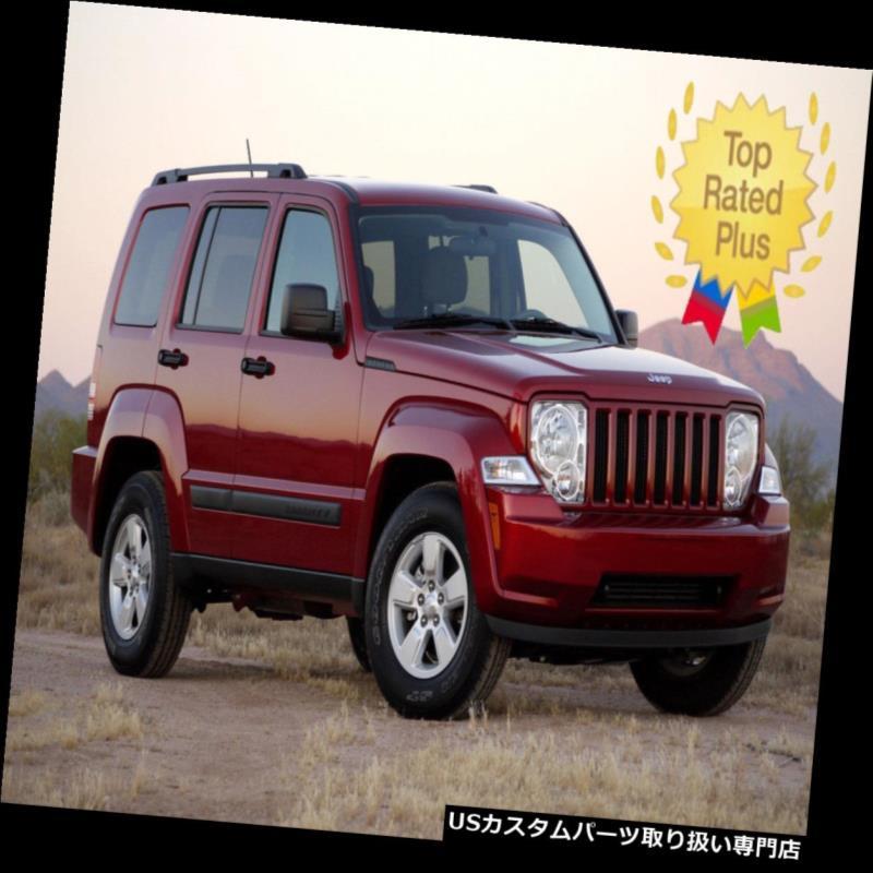 ベントバイザー ドアバイザー レインガード ベントウィンドウバイザーシェードシェードバイザーレインガード用ジープリバティ2008-2011 Vent Window Visor Shade Shades Visors Rain Guards for Jeep Liberty 2008-2011