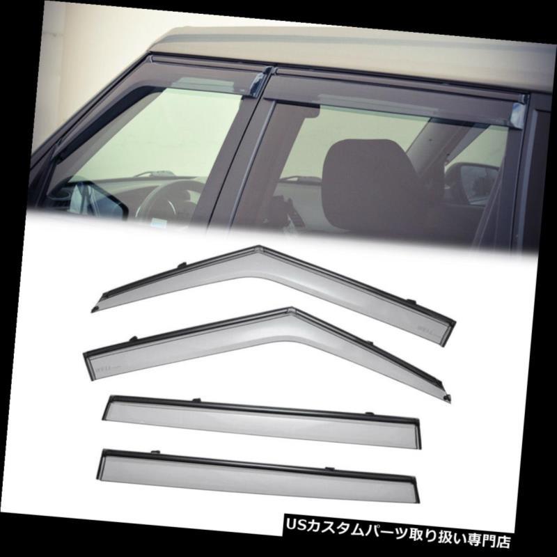 ベントバイザー ドアバイザー レインガード Kia KIAソウル10-13ブラックトリム用[クリップON]ウィンドウベントバイザーレインガードデフレクター Visor For Kia Soul 10-13 10-13 Black Trim[Clip ON] Window Vent Visor Rain Guard Deflector, フランス時計ピエールラニエ公式:8557c167 --- ljudi.ee