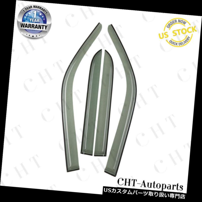 ベントバイザー ドアバイザー レインガード トヨタ4ランナー1996年 - 2002年スポーツのための4倍のウィンドウバイザーベントレインガードシールド 4x Window Visors Vent Rain Guards Shields for Toyota 4Runner 1996-2002 Sport