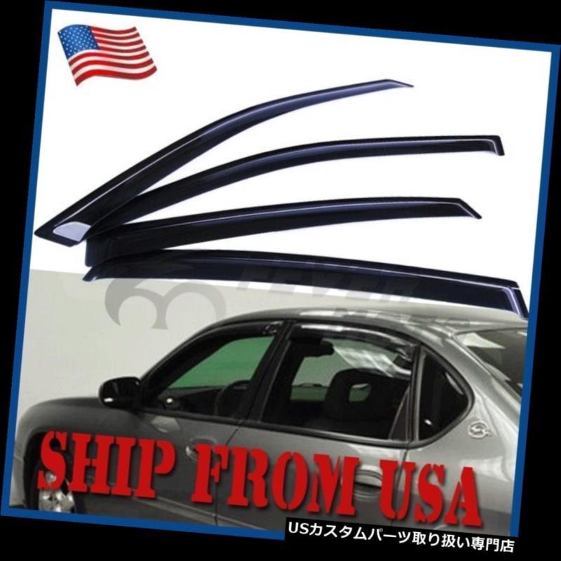 ベントバイザー ドアバイザー レインガード シボレーインパラ2000-2005 FMのための米国4X車の煙窓のバイザー雨の日曜日の出口の監視 US 4X Car Smoke Window Visors Rain Sun Vent Guard For Chevy Impala 2000-2005 FM
