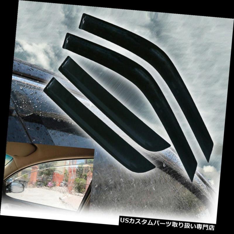ベントバイザー ドアバイザー レインガード ホンダCRV 1997-2001スモークティントウィンドウバイザーレインガードシェードスリムスタイルUS for Honda CRV 1997-2001 Smoke Tint Window Visors Rain Guard Shade Slim style US