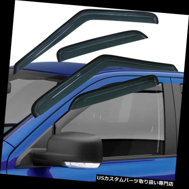 ベントバイザー ドアバイザー レインガード 1995 - 2005年用GMCジミー/シボレーブレザーウィンドウベントレインガードバイザーデフレクターUS For 1995-2005 GMC Jimmy/Chevy Blazer Window Vent Rain Guard Visors Deflectors US