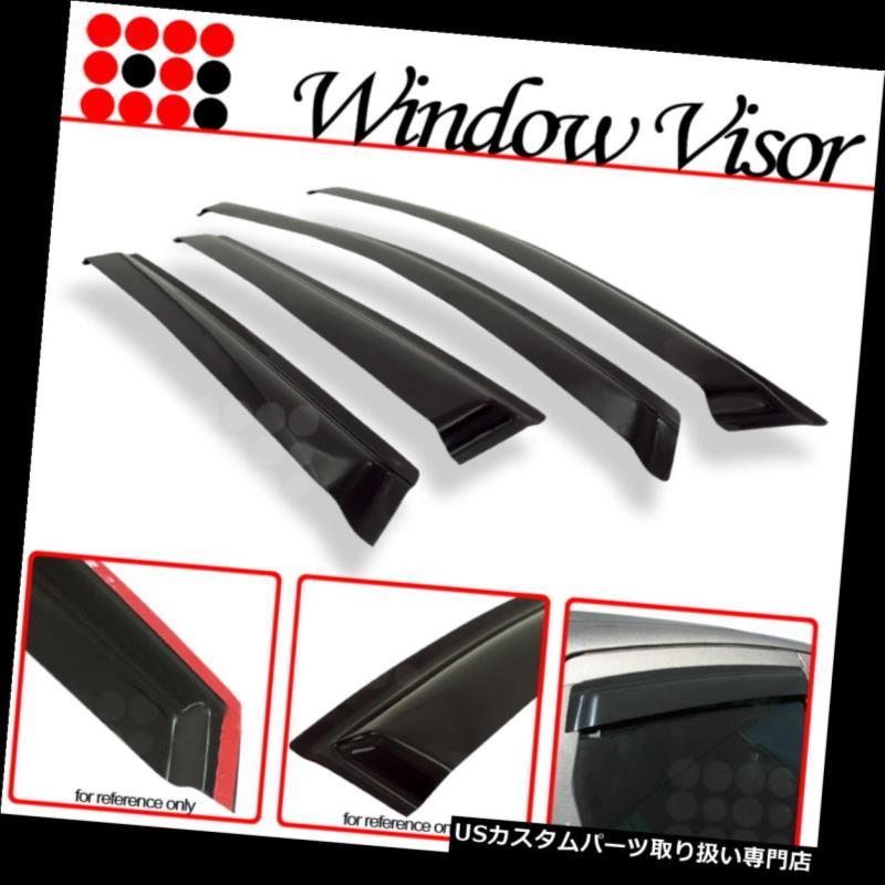 Window Visor Vent Shade Guard Honda Accord 4 Door Sedan 2008 2009 2010 2011 2012