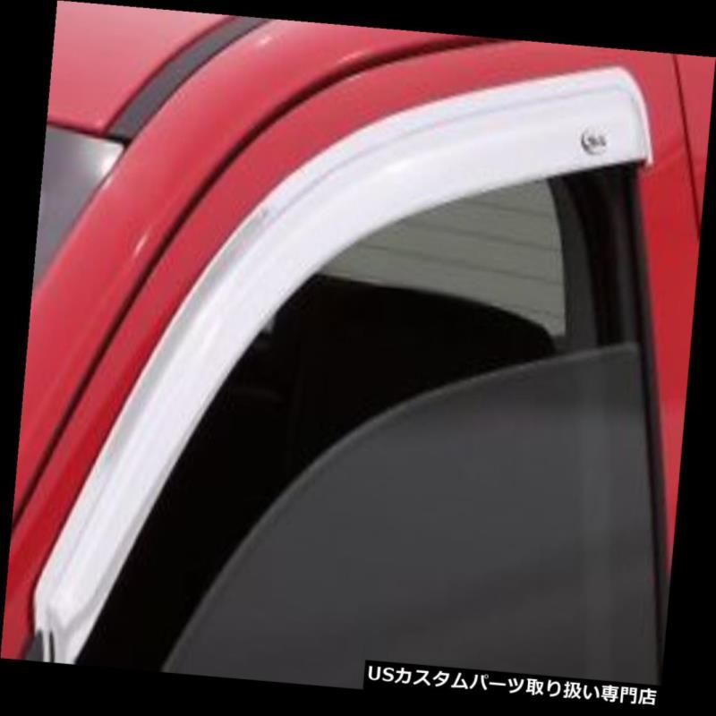 ベントバイザー ドアバイザー レインガード オートベントシェードクロームベントバイザー682754フロントペアのみ Auto Ventshade Chrome Ventvisors 682754 Front Pair Only