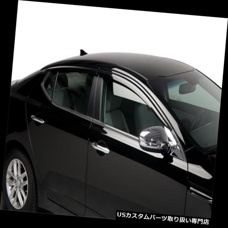 ベントバイザー ドアバイザー レインガード 2011-2015 Kia Optima 2013 2012 2014 2014 Putco 580005のウィンドウベントバイザー Window Vent Visors For 2011-2015 Kia Optima 2013 2012 2014 Putco 580005