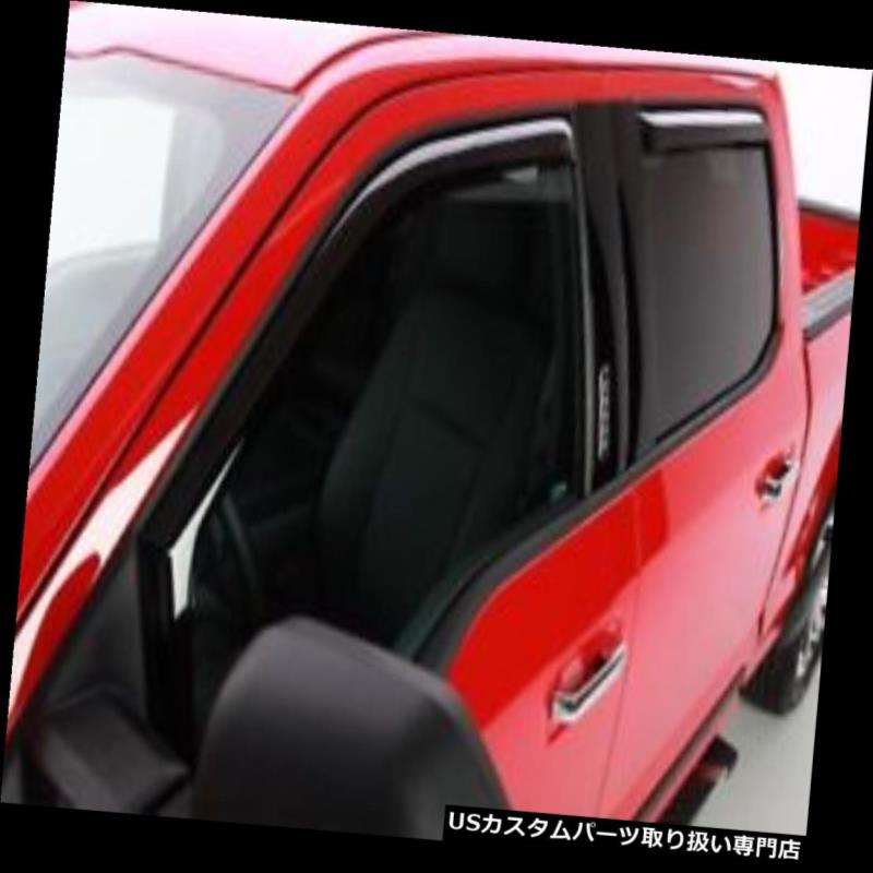 ベントバイザー ドアバイザー レインガード 573471 EGRインチャンネルレインガードウィンドウベントバイザーフォードF150 / Super Duty Ext。 573471 EGR In-Channel Rain Guard Window Vent Visors Ford F150 / Super Duty Ext.