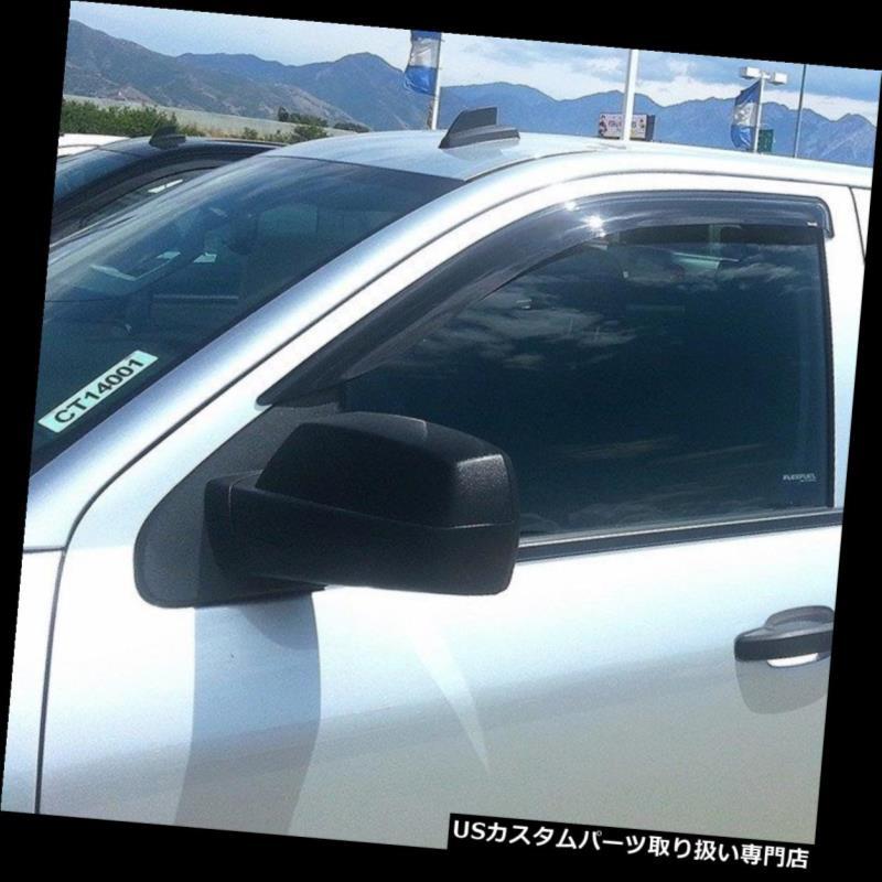 ベントバイザー ドアバイザー レインガード Ford Ranger 1993 - 2011ウィンドベントバイザーシェードレインガード Ford Ranger 1993 - 2011 Wind Vent Visor Shade Rain Guard