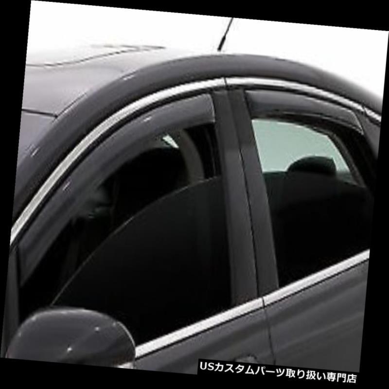 Fits 2013-18 Ford Escape Auto Ventshade 194383 4pc Smoke In-Channel Ventvisor