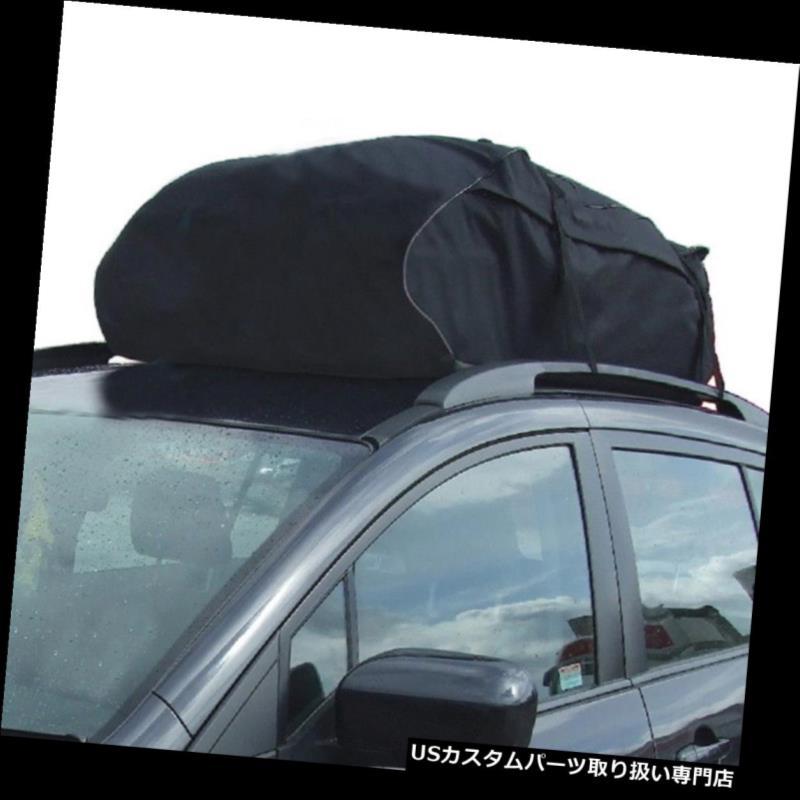 カーゴ ルーフ キャリア ルーフトップカーゴ防水キャリアバッグラック収納荷物車SUVバストラベルHH Roof Top Cargo Waterproof Carrier Bag Rack Storage Luggage Car SUV Bus Travel HH