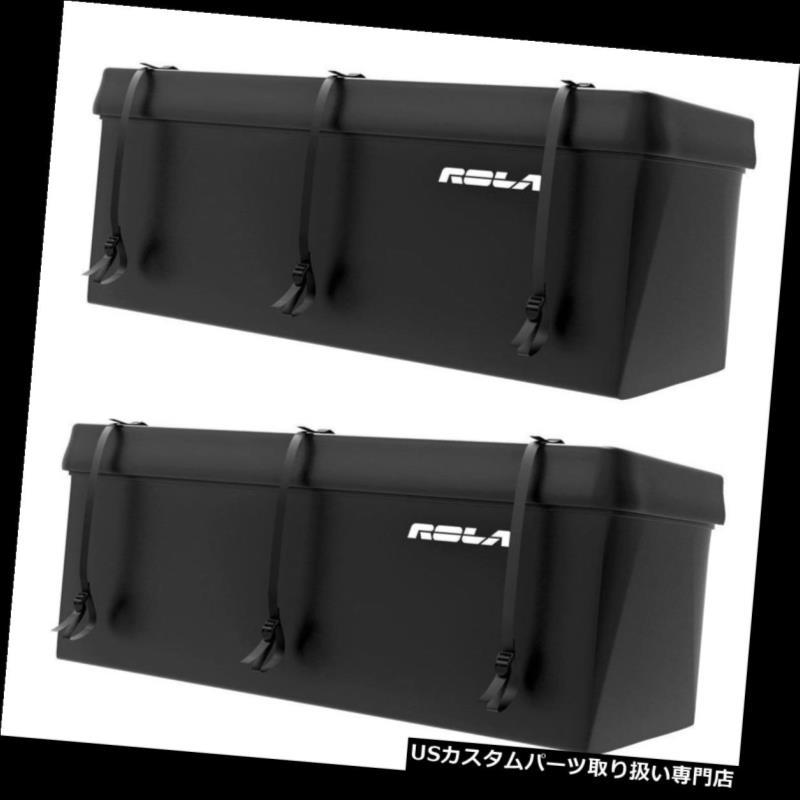 カーゴ ルーフ キャリア Rola Tuffbakレインプルーフ防水ラゲッジトレーラーヒッチカーゴキャリア(2パック) Rola Tuffbak Rainproof Waterproof Luggage Trailer Hitch Cargo Carrier (2 Pack)