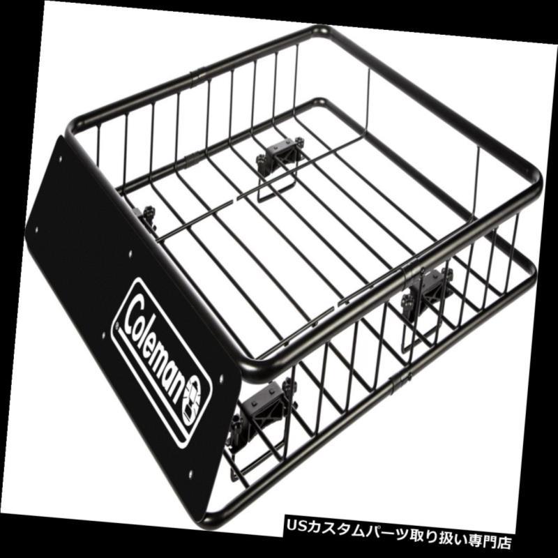 カーゴ ルーフ キャリア 荷物の貨物バスケットのホールダーの延長のためのコールマンの鋼鉄屋根の上の棚のキャリア Coleman Steel Roof Top Rack Carrier For Luggage Cargo Basket Holder Extension