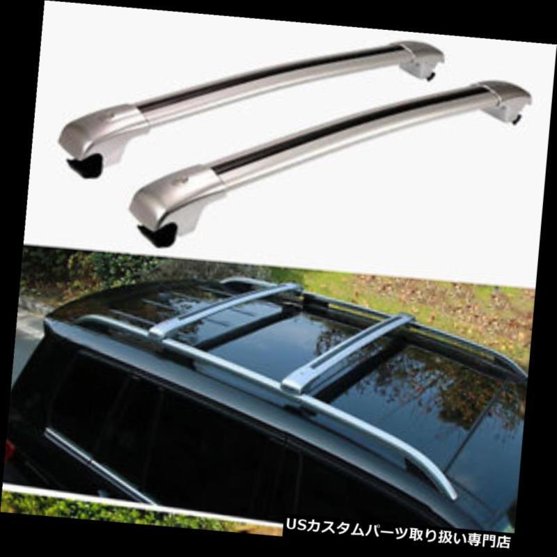 カーゴ ルーフ キャリア キャデラックSRX 2010-2016貨物ルーフラックサイドレールバー荷物キャリア2個 For Cadillac SRX 2010-2016 Cargo Roof Rack Side Rails Bars Luggage Carriers 2Pcs