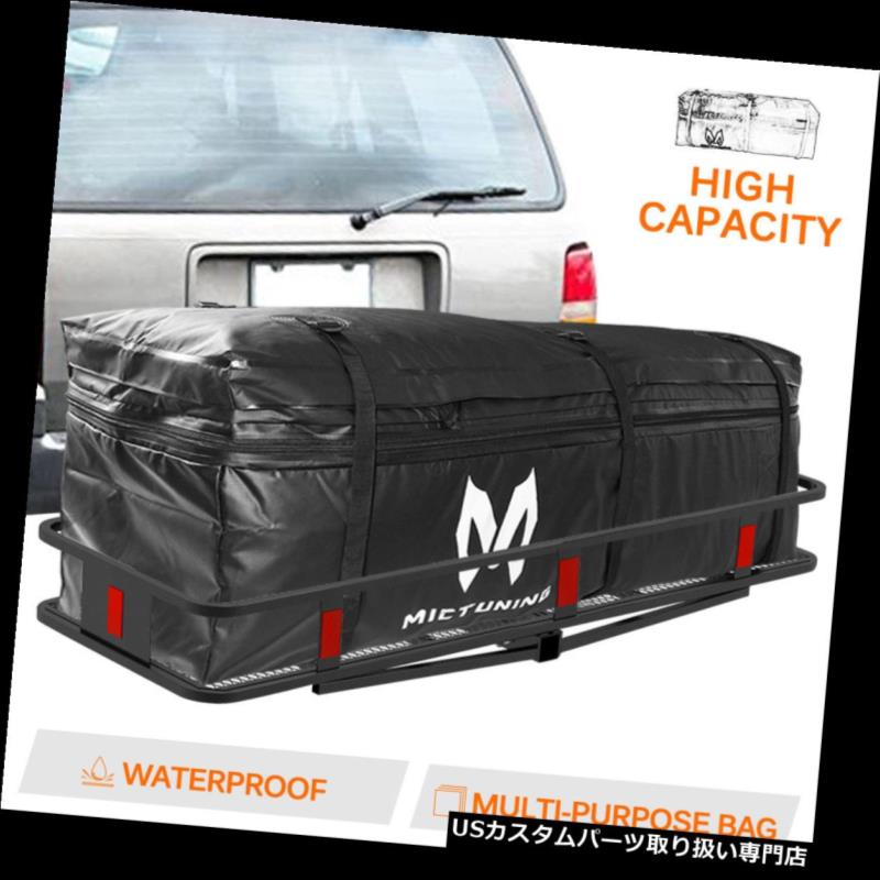 カーゴ ルーフ キャリア 車のトラックSUVのためのMICTUNINGの防水拡張可能なヒッチの皿のキャリアの貨物袋 MICTUNING Waterproof Expandable Hitch Trays Carrier Cargo Bag for Car Truck SUV