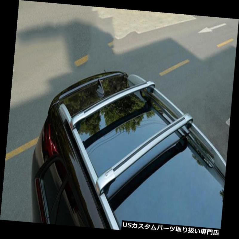 カーゴ ルーフ キャリア キャデラックSRX 2010-2016のための貨物ルーフラックサイドレールバー荷物キャリア2個 Cargo Roof Rack Side Rails Bars Luggage Carriers 2Pcs For Cadillac SRX 2010-2016