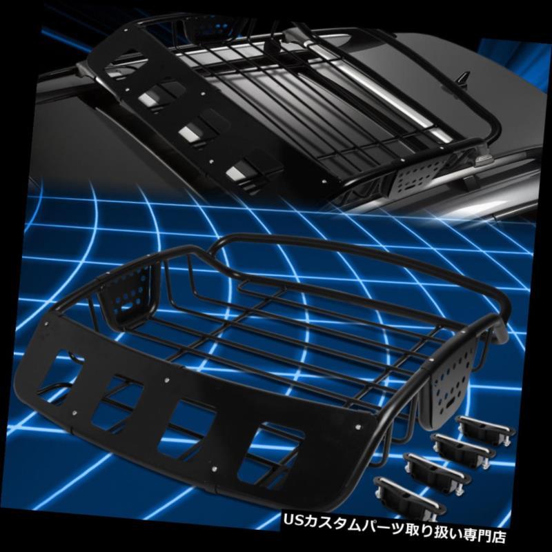 カーゴ ルーフ キャリア 調節可能で頑丈な鋼鉄屋根の棚の貨物バスケットの上の荷物のホールダー/キャリア Adjustable Heavy Duty Steel Roof Rack Cargo Basket Top Luggage Holder/Carrier