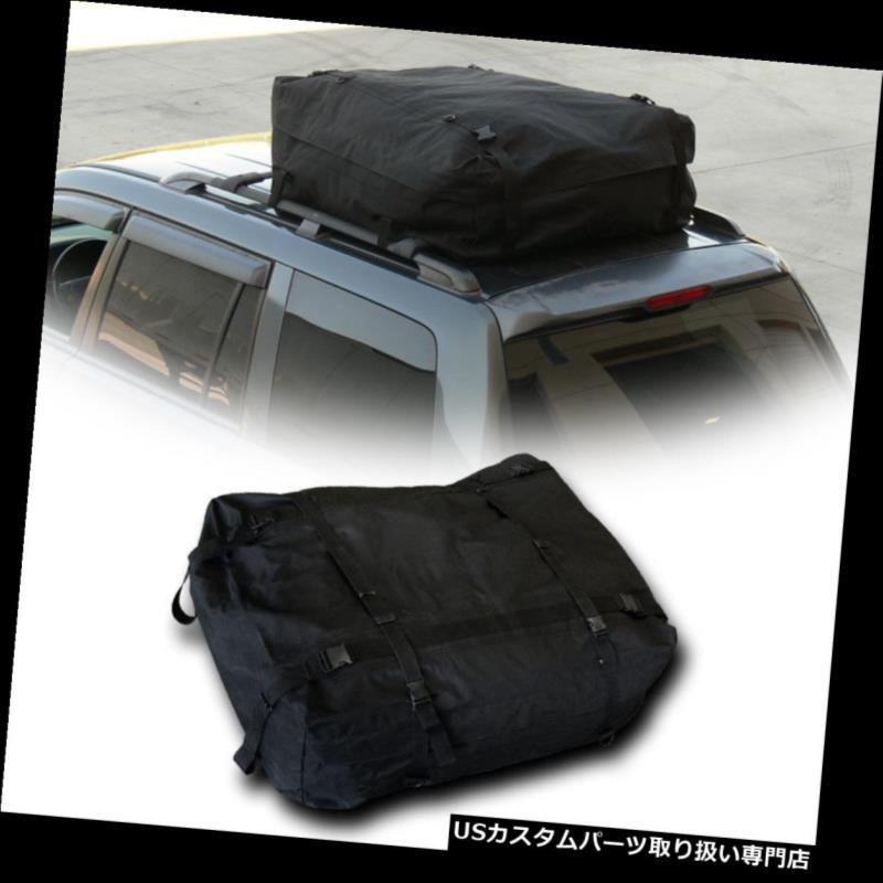 カーゴ ルーフ キャリア Blk防雨ルーフトップラックカーゴキャリアバッグトランクベッド/ヒッチマウント/インテリアSm Blk Rainproof Roof Top Rack Cargo Carrier Bag Trunk Bed/Hitch Mount/Interior Sm