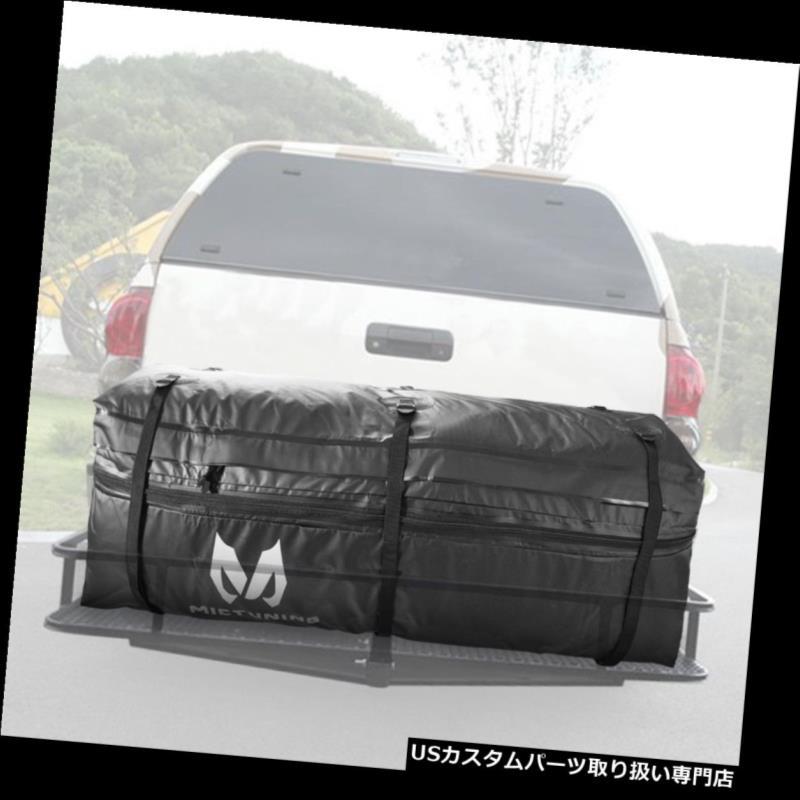 カーゴ ルーフ キャリア 車のトラックSUVのためのMICTUNINGの貨物袋のRainproofの拡張可能なヒッチの皿のキャリア MICTUNING Cargo Bag Rainproof Expandable Hitch Tray Carrier for Car Truck SUV