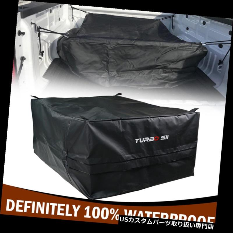 カーゴ ルーフ キャリア ヘビーデューティ防水トラックベッド貨物キャリアバッグ荷物収納オーガナイザーBLK Heavy Duty Waterproof Truck Beds Cargo Carrier Bag Luggage Storage Organizer BLK