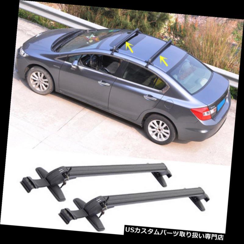 カーゴ ルーフ キャリア シボレーアベオ2010-2016年貨物ルーフラックサイドレールバー荷物キャリア For Chevrolet Aveo 2010-2016 Cargo Roof Rack Side Rails Bars Luggage Carriers